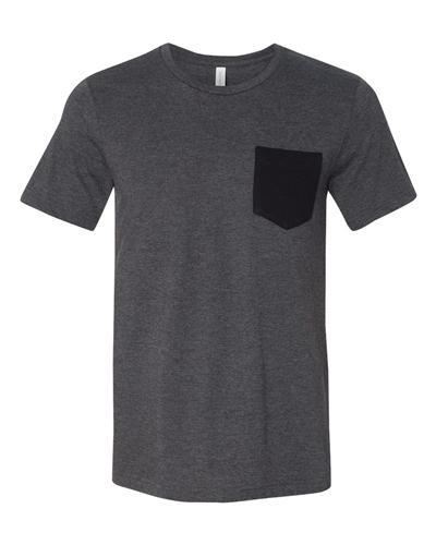 4bdd9971c2ae Bella+Canvas Jersey Short Sleeve Pocket Tee | Pocket Tees | Custom ...