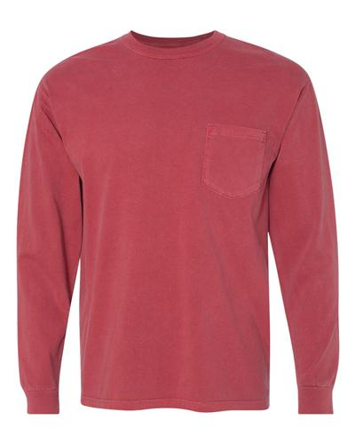 66cc5267 Comfort Colors Long Sleeve Pocket Tee | Pocket Tees | Custom Product ...