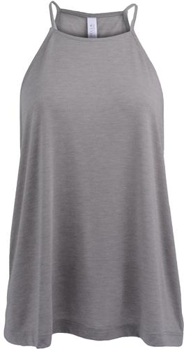 Canvas Womens//Ladies Flowy High Neck Tank Top Bella