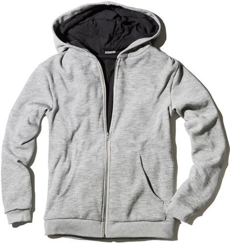 Cotton Fleece Marine Layer Zippered Hoodie Sweatshirt